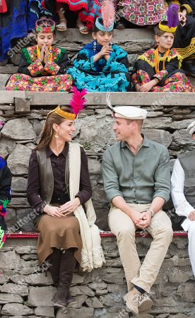Editorial picture of Prince William and Catherine Duchess of Cambridge visit to Pakistan - 16 Oct 2019