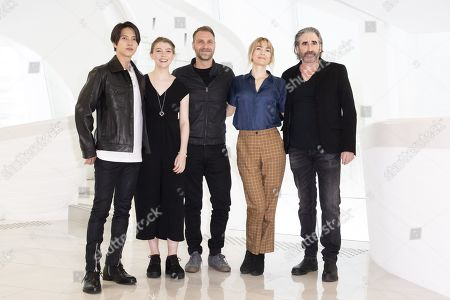 Editorial picture of 'The Head' photocall, MIPCOM Cannes, France - 15 Oct 2019