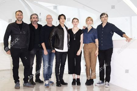 Editorial photo of 'The Head' photocall, MIPCOM Cannes, France - 15 Oct 2019
