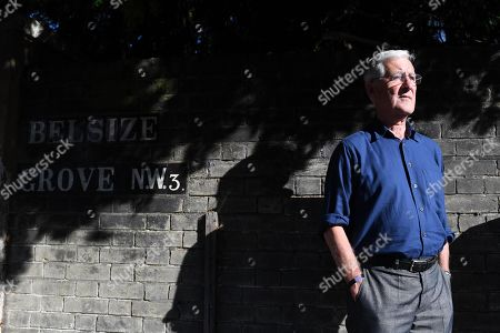 Stock Image of Mike Brearley . Ex England Cricket Player Mike Brearley Feature.