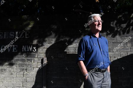 Stock Photo of Mike Brearley . Ex England Cricket Player Mike Brearley Feature.