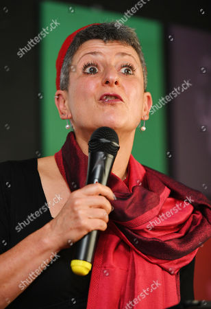 Editorial picture of Rabbi Laura Janner-klausner . Labour Party Conference Liverpool Merseyside.- Rabbi Laura Janner-klausner Speakers The The Jewish Labour Movement Rally.  - 23/9/18.