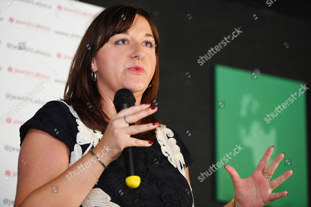 Ruth Smeeth . Labour Party Conference Liverpool Merseyside.- Ruth Smeeth MP Speaks The The Jewish Labour Movement Rally  - 23/9/18.