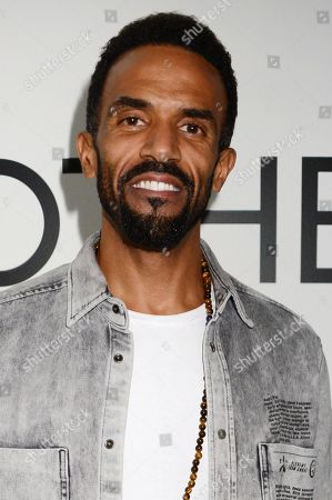 Craig David attends the launch of Apothem exclusively at Harvey Nichols