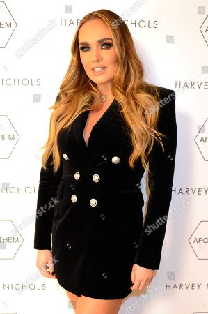 Tamara Ecclestone attends the launch of Apothem exclusively at Harvey Nichols