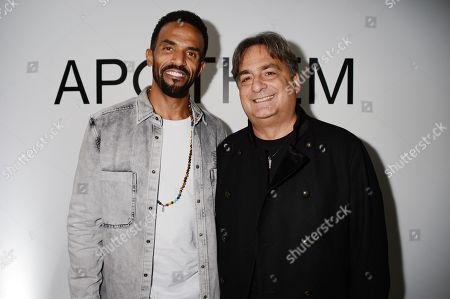 Craig David and Colin Lister attend the launch of Apothem exclusively at Harvey Nichols
