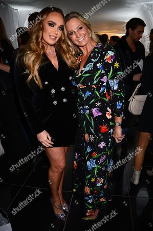 Tamara Ecclestone and Jessica Binns attends the launch of Apothem exclusively at Harvey Nichols