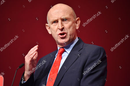 John Healey . Labour Party Conference Liverpool Merseyside.- John Healey MP Shadow Minister Of State For Housing.  - 24/9/18.
