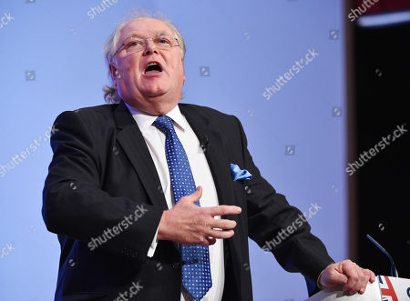 Lord Digby Jones. - Conservative Party Conference At The Birmingham Int. Conference Centre Birmingham West Midlands.  - 30/9/18.