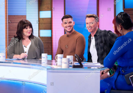 Coleen Nolan, Kieron Richardson, Carl Hyland, Janet Street-Porter and Brenda Edwards