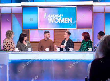 Editorial picture of 'Loose Women' TV show, London, UK - 16 Oct 2019