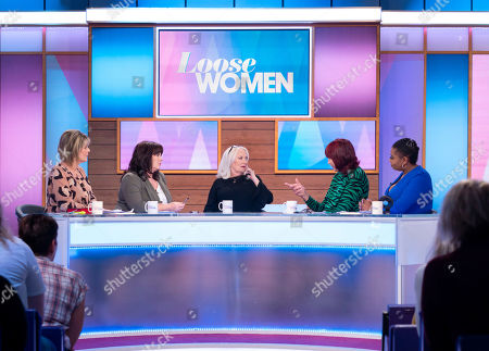Stock Picture of Ruth Langsford, Coleen Nolan, Martina Cole, Janet Street-Porter and Brenda Edwards