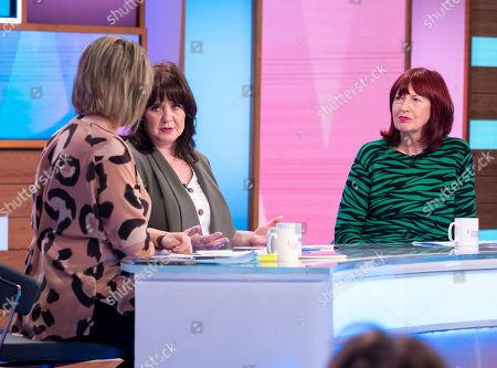 Editorial image of 'Loose Women' TV show, London, UK - 16 Oct 2019