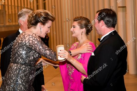 Editorial image of Belgian Royals visit to Luxembourg - 16 Oct 2019