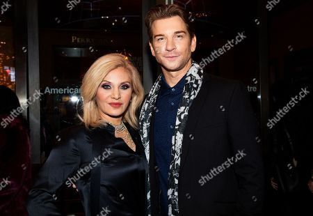 Stock Image of Orfeh and Andy Karl