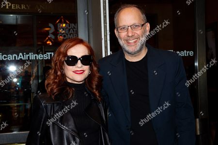 Stock Image of Isabelle Huppert and Ira Sachs