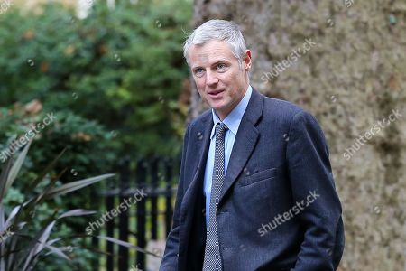 Minister of State for Environment, Food and Rural Affairs and Department for International Development Zac Goldsmith arrives in Downing Street to attend the weekly cabinet meeting.