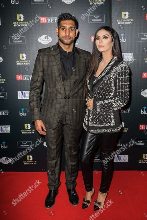 Stock Photo of Amir Khan and Faryal Makhdoom