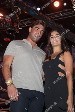 Jack Fincham and Layla Anna-Lee
