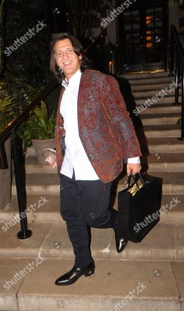 Scott Mitchell Leaving the Best Heroes Awards at the Bloomsbury Hotel