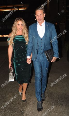 Bobby Cole Norris and Bianca Gascoigne Leaving the Best Heroes Awards at the Bloomsbury Hotel