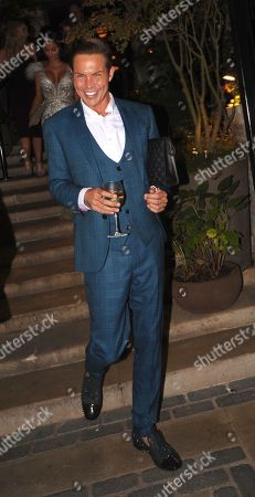 Bobby Cole Norris Leaving the Best Heroes Awards at the Bloomsbury Hotel