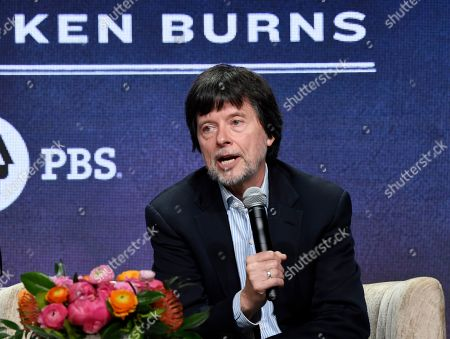 "Stock Photo of Ken Burns, director of the PBS documentary series ""Country Music,"" speaking in a panel discussion during the 2019 Television Critics Association Summer Press Tour in Beverly Hills, Calif. Burns is inaugurating a new prize designed to promote historical films. Its first $200,000 grant will go to directors of ""Flannery,"" about the late Southern writer Flannery O'Connor. The author of ""A Good Man is Hard to Find"" suffered from lupus and died in 1964 at age 39"