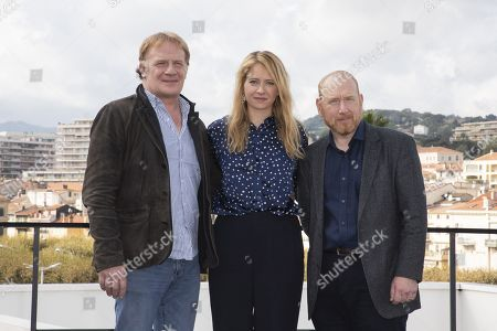 Stock Image of Mark Lewis, Genevieve Barr and Adrian Scarborough