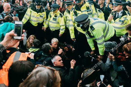 Editorial photo of Extinction Rebellion protest, London, UK - 16 Oct 2019