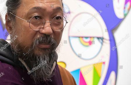 Editorial picture of Takashi Murakami art exhibit opens in Paris, France - 16 Oct 2019
