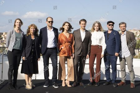 Editorial photo of 'Agent Hamilton' photocall, MIPCOM Cannes, France - 14 Oct 2019