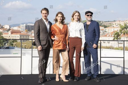 Editorial picture of 'Agent Hamilton' photocall, MIPCOM Cannes, France - 14 Oct 2019