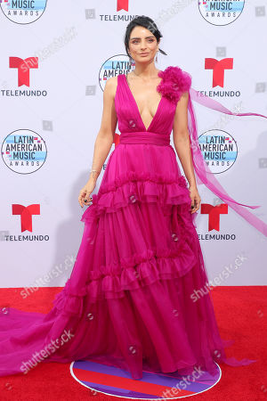 Editorial image of Latin American Music Awards, Arrivals, Dolby Theatre, Los Angeles, USA - 17 Oct 2019