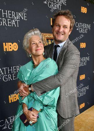 Helen Mirren and Jason Clarke