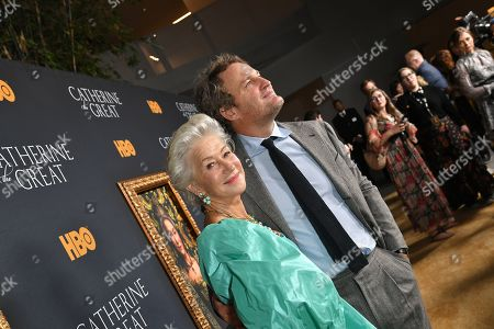 Helen Mirren and Jason Clarke