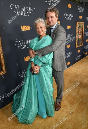 Stock Image of Helen Mirren and Jason Clarke