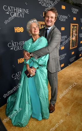 Stock Photo of Helen Mirren and Jason Clarke