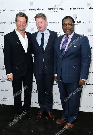 Editorial photo of Esquire Townhouse with Breitling Launch, Arrivals, London, UK - 16 Oct 2019