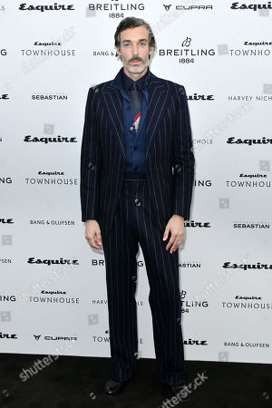 Editorial picture of Esquire Townhouse with Breitling Launch, Arrivals, London, UK - 16 Oct 2019