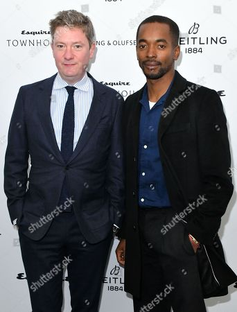 Editorial image of Esquire Townhouse with Breitling Launch, Arrivals, London, UK - 16 Oct 2019