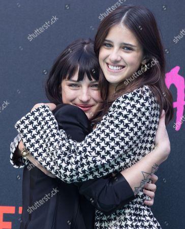 Alice Pagani and Benedetta Porcaroli