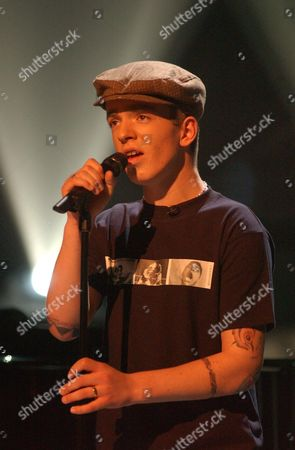 Stock Picture of 'Stars in Their Eyes: Kids' TV - 2006 David Goosen performs as Gary Jules.