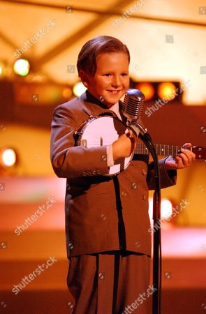 'Stars in Their Eyes: Kids' TV - 2006. Christopher Napier performs as George Formby.