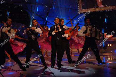 'Stars in Their Eyes: Kids' TV - 2006. Jos Slovick performs as Dean Martin.