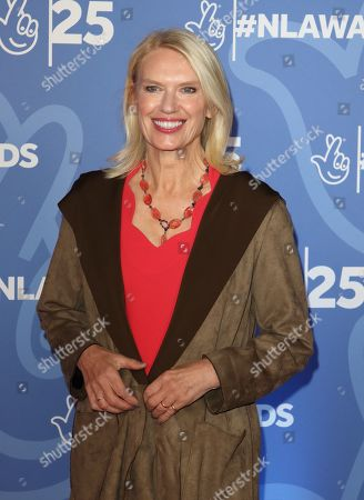 Stock Picture of Anneka Rice