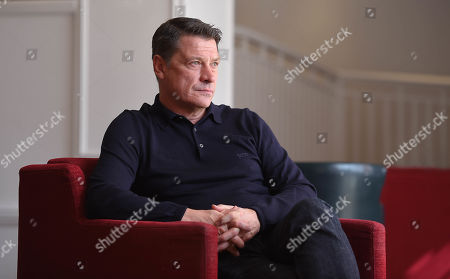 Editorial image of Tony Cottee interview, Leicester, UK - 01 Oct 2019