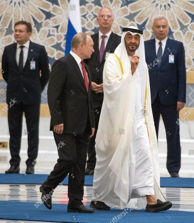 Editorial photo of Russian President Vladimir Putin visit to the United Arab Emirates - 16 Oct 2019