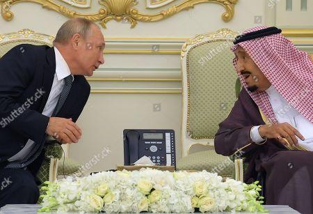 Editorial image of Russian President Vladimir Putin visit to the United Arab Emirates - 16 Oct 2019