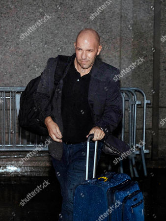 David Correia leaves Federal Court after his appearance, in New York. Correia, a Florida man accused of conspiring with associates of Rudy Giuliani to make illegal campaign contributions made an initial court appearance Wednesday after flying to Kennedy Airport in New York City to turn himself in