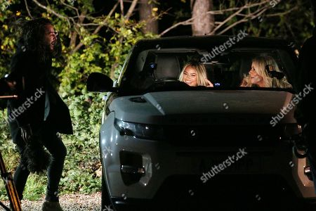 Peter Wicks, Olivia Attwood and Chloe Sims